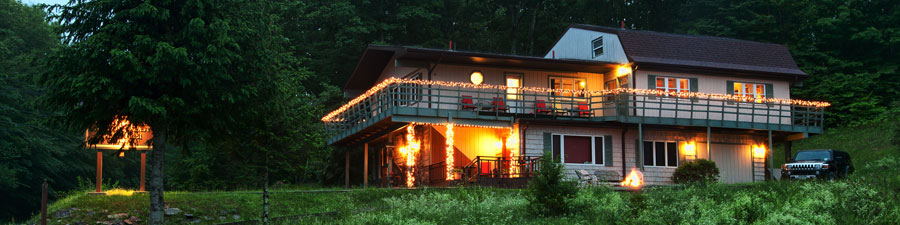 catskills bed and breakfast xmas lights
